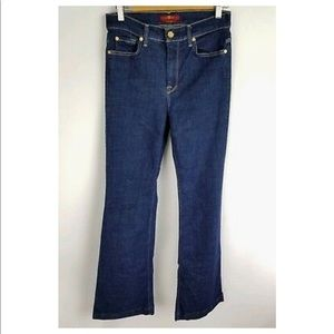 7 For All Mankind Jeans Size 29 Ginger Flare Leg